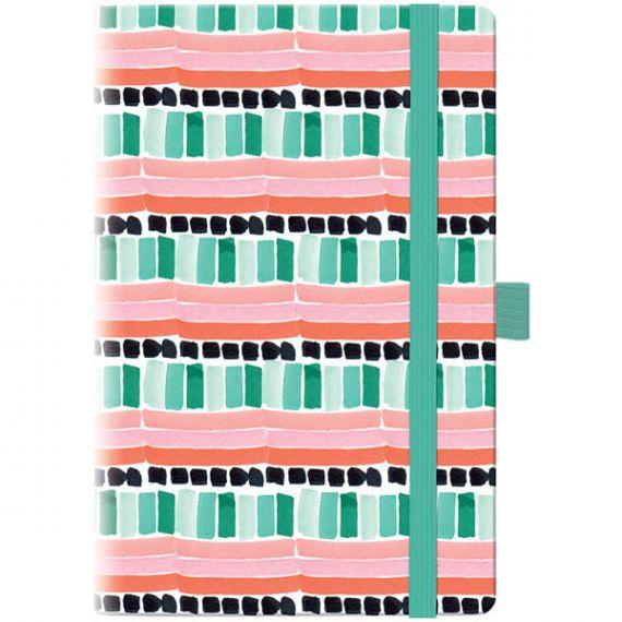 Тижневик Brunnen А-5- Смарт Графо Mint&Pink на гумці BBH