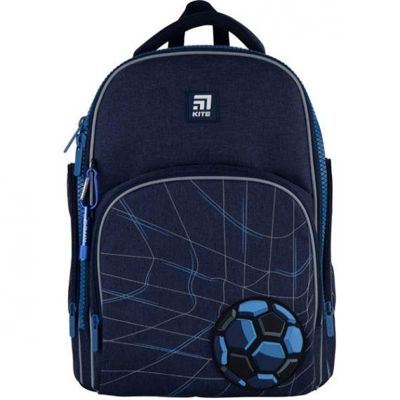 Рюкзак Kite Education Football pitch 1відділення, ортопедична спинка, 2 бічні, 1 передня кишеня