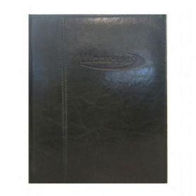 Дневник школьный искусственная кожа + паралон Sarif черный Magica