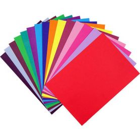 Папір кольоровий двосторонній А-4 15арк St-t