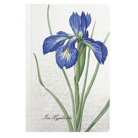 Книга записна 95х145мм. 96аркушів, Квіти, твердий картон, білий папір, клітинка *Поліграфіст