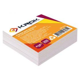 Папір для нотаток 85х85 300арк білий н/кл. Krok