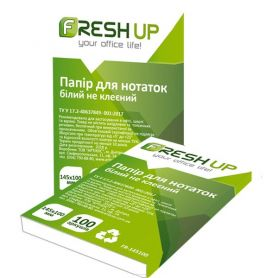 Папір для нотаток А-6 70г 100арк Fresh