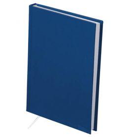 Щоденник Buromax А-5 144арк. Strong тв.обкл., білий блок, синій