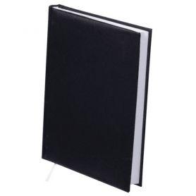 Щоденник Buromax А-5 144арк. Strong тв.обкл., білий блок, чорний