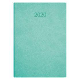 Щоденник датований Brunnen Стандарт Flex сліпе тиснення, світло-бірюзовий, інтегральний