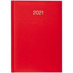 Щоденник датований Brunnen Стандарт Miradur з/т яскраво-червоний