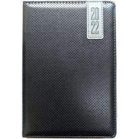 Щоденник датований Bourgeois штучна шкіра, кремовий папір, чорний