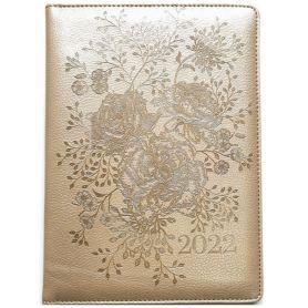 Щоденник датований Bourgeois штучна шкіра, кремовий папір, бежевий