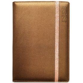 Щоденник датований Bourgeois штучна шкіра, кремовий папір, бронз