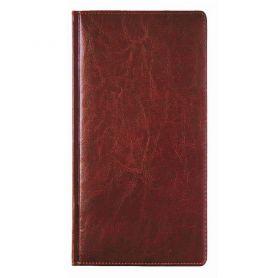 Еженедельник датированный Бриск карманный Sarif красно-коричневый