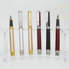 Ручка перова Baixin металева срібло,золото,червона,чорна
