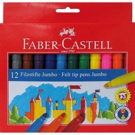 Фломастери 12шт. Faber-Castell Замок і лицарі JUMBO