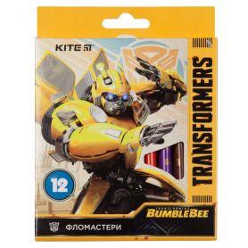 Фломастери 12шт. Kite Transformers