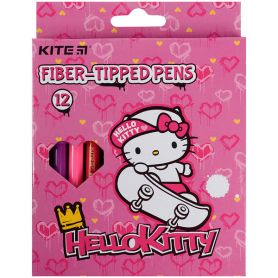 Фломастери 12шт. Kite Hello Kitty