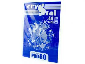 Папір А-4 80г 100арк Crystal PRO 80 С