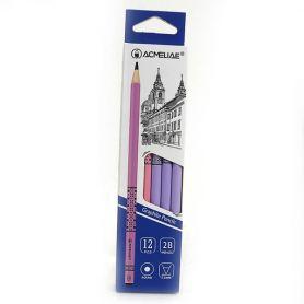 Олівець графітний Acmeliae 2B мікс Орнамент 2