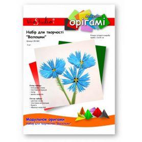 Набор для творчества оригами Василек