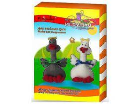 Набір для творчості М'яка іграшка своїми руками Два веселих гуся