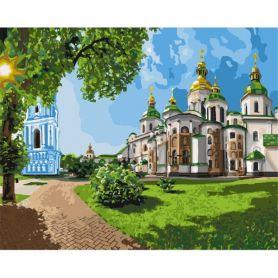 Набор для росписи по номерам София Киевская 40х50см