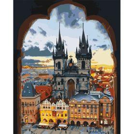 Набор для росписи по номерам 40х50см Злата Прага