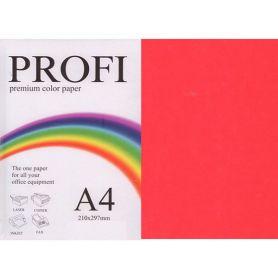 Папір кольоровий А-4 80г 500арк інт/червоний Deep Red PROFI