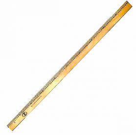 Лінійка дерев'яна 1м без ручки