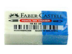 Гумка Faber-Castell прямокутна синьо-біла в інд. упаковці *ПШ