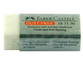 Гумка Faber-Castell Dust-Free прямокутна біла в інд. упаковці *ПШ