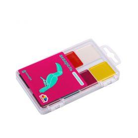 Акварель 8 кольорів Захоплення Гамма UA Нововолинськ пластикова упаковка, без пензлика
