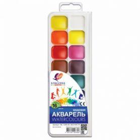 Акварель 16 кольорів Классика Луч пластикова упаковка, без пензлика