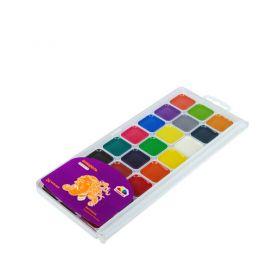 Акварель 24 кольорів Творчість Гамма UA Нововолинськ пластикова упаковка, без пензлика