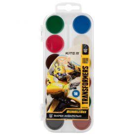 Акварель 12 кольорів Little Transformers пластикова упаковка, без пензлика
