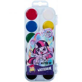 Акварель 12 кольорів Little Pony пластикова упаковка, без пензлика