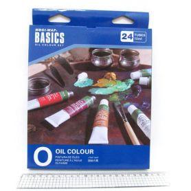 Фарби масляні 24 кольорів в тубах по 12мл Basics