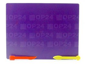 Дошка для пластиліну пластикова 19,5 x 25,4 + 2стека асорті