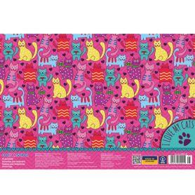 Килимок для творчості пластиковий CFS Fanny Cats 38 x 27