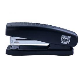 Степлер Buromax №24 -20арк пластиковий чорний