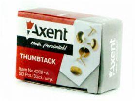 Кнопки 50шт оміднені Axent