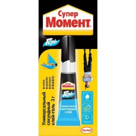 Клей Henkel Super Moment Gel 3гр