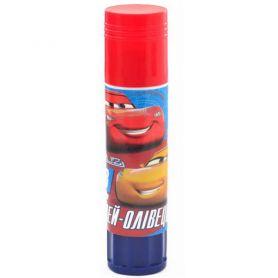 Клей-олівець 8г PVA 1Вересня Cars червоний
