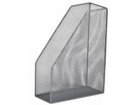 Лоток вертикальний 1 відділення металевий сітка сріблястий Buromax
