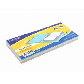 Розділювач сторінок картон 100арк. 2 отвори 240х105 Economix