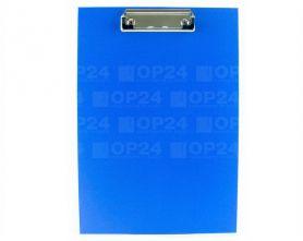 Кліпборд А-4 PVC синій Вuromax