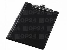 Кліпборд-папка А-4 PVC чорна Panta Plast