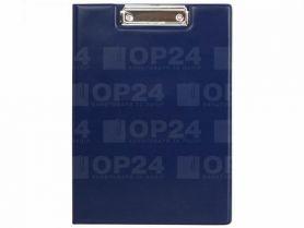 Кліпборд-папка А-4 вініл синя Axent