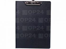Кліпборд-папка А-4 PVC чорна Buromax