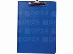 Кліпборд-папка А-4 PVC синя Buromax