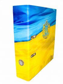 Папка-реєстратор А-4 70мм картон ламінований ІTEM Прапор з гербом