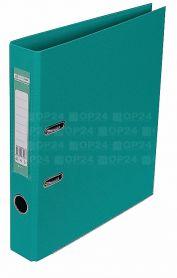 Папка-реєстратор А-4 50мм PР Buromax двостороннє покриття бірюзова